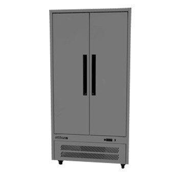 Williams Quartz HQ28SDSS 2 Solid Door Upright Fridge – Stainless Steel