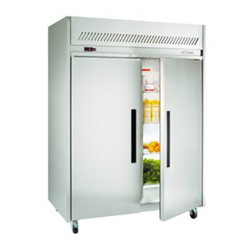 WILLIAMS HLG2SDSS 2 Door Garnet GN Fridge Freezer