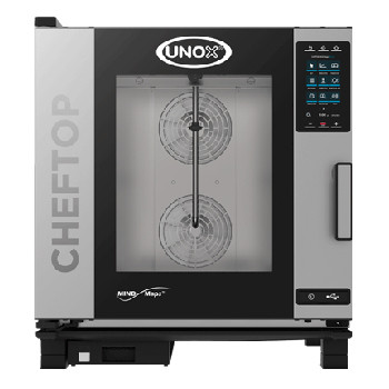 UNOX XEVC-1011-GPR ChefTop Mind Maps PLUS Series 10 Tray Gas Combi Oven