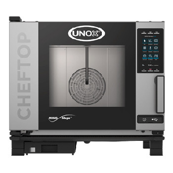 UNOX XEVC-0511-GPR ChefTop Mind Maps PLUS Series 5 Tray Gas Combi Oven