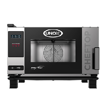 UNOX XEVC-0311-E1R ChefTop Mind Maps ONE Series 3 Tray Electric Combi Oven