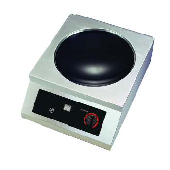 Yellow Induction 2500W Counter Top Wok