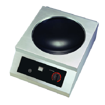 Yellow Induction 3500W Counter Top Wok