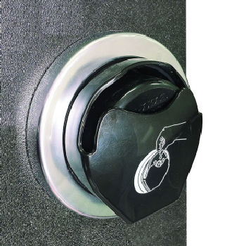 San Jamar Ez-Fit In-Counter Lid Dispenser 70-95mm