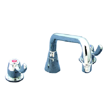 Yellow Tapware Premium Deck Mount Sink Set with 300mm Aerated Swing Spout