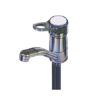 Yellow Tapware Premium Deck Lever Operated Mixer with 90mm Lever