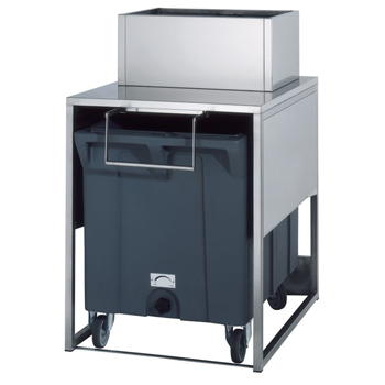 Brema RB100 Ice Bin, 17kg Storage with Trolley