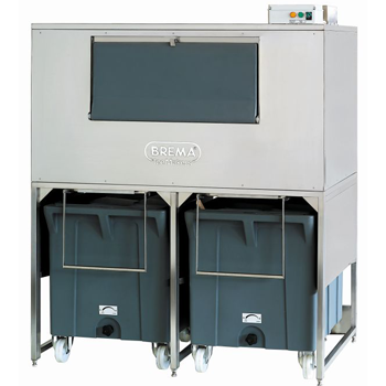 Brema DRB500 Ice Bin with 2 Trolleys
