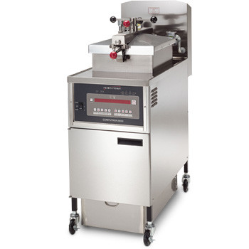 PFE 500 with 1000 Computron Control Four Head Pressure Fryer