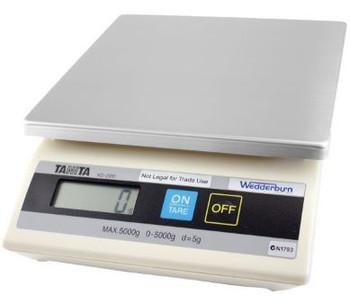 Wedderburn Tanita scale machine 0g to 5000g