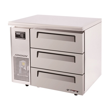 Turbo Air range Undercounter Drawer Fridge 198Lt