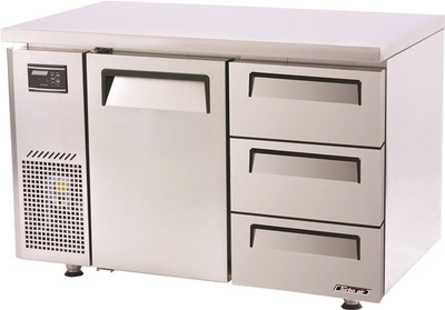 Turbo Air Range Undercounter Drawer Fridge 311 Lt