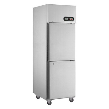 TROPICAL Thermaster 2×½ door SS Fridge (SUC500)