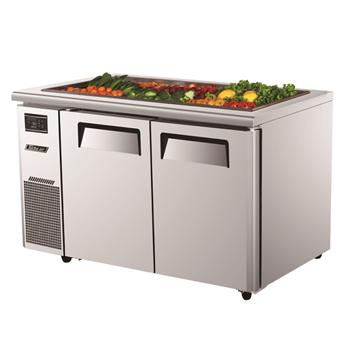 Turbo Air 2 Door Salad Prep Table-Buffet