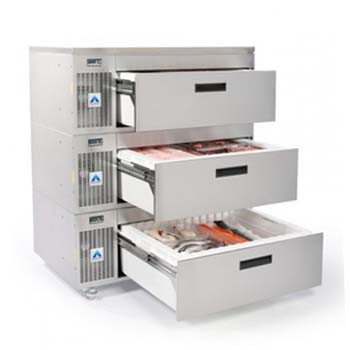 Adande Triple Drawer Side Engine Refrigeration Unit