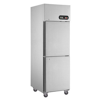 TROPICAL Thermaster 2×½ door SS Freezer 600L (SUF600)