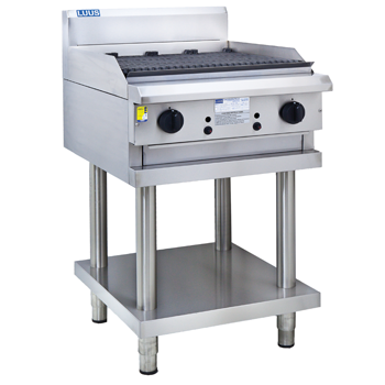 LUUS 600mm Professional Range Chargrill