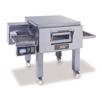 Moretti Forni TT98E Series Conveyor Oven with Legs and Castors