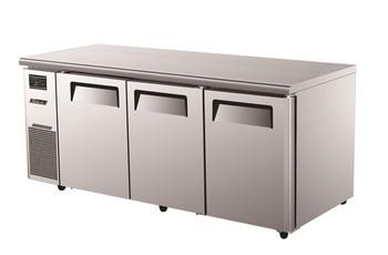 Austune KURF18-3 Three Solid Door Dual Temperature Undercounter Prep Table - 1800mm