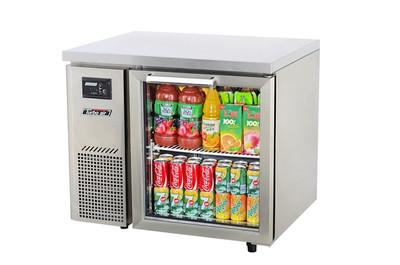 Austune KGR9-1 Under Counter Glass Door Refrigerator