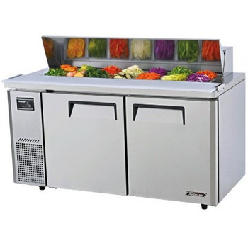 Austune KHR15-2 Turbo Air Salad Side prep Table-Hood 1500mm