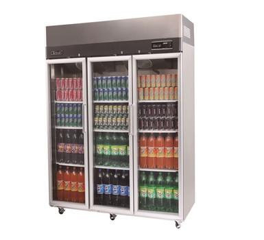 Austune KR65-3G Turbo Air three Glass Door Display fridge 1876L