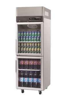 Austune KR25-2G Turbo Air two half Glass Door Display fridge 572L