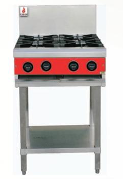 Fuoco F4OBS 4 Open Burner Cooktop