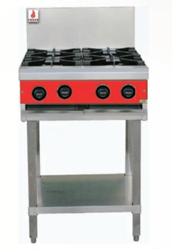 Fuoco F4OBS 4 Open Burner Cooktop
