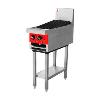 Fuoco Gas Char Griddle 300mm