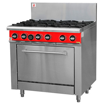 Fuoco F6OBO 6 Open Burner with Static Oven