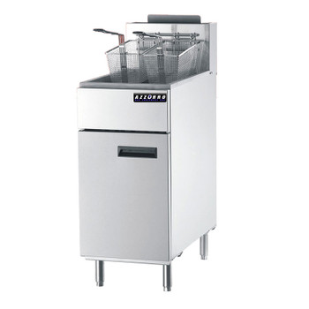 Azzurro BL-DF3 3 Tubes Gas Deep Fryer