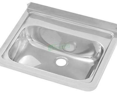 Wall Mounted Stainless Steel Hand Basin