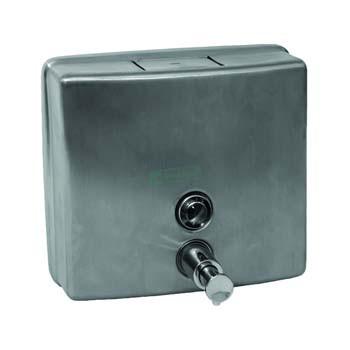 Stainless Steel Soap Dispenser Square
