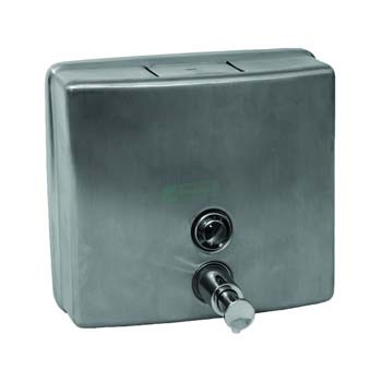 Stainless Steel Soap Dispenser Square