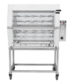 Semak M18 Manual Electric Rotisserie - 18 Birds