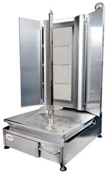 Flame Master FMKM-3-F Kebab Machine Flat Burner