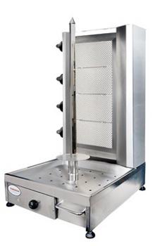 Flame Master FMKM-3-S Kebab Machine Sliding Burner