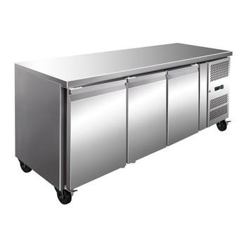 TROPICALISED Three Door Gastronorm Bench Freezer (GN3100BT)