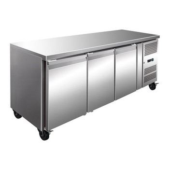TROPICALISED Three Door Gastronorm Bench Freezer (GN3100BT)