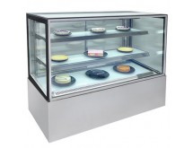 1500mm Square Glass Cake Display