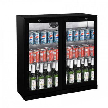 Under Bench Two Door Bar Cooler (LG-208HC)