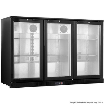Under Bench Three Door Bar Cooler (LG-330HC)