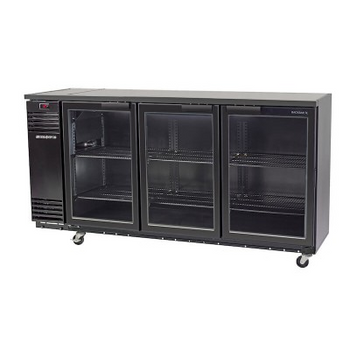 Skope BB580X 3SW BackBar Series Three Swing Doors Bench Fridge - 2060mm