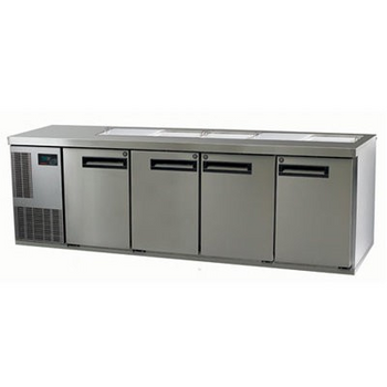 Skope PG550PREP-2 Pegasus Horizontal 1/1 Series Four Doors Prep Fridge - 2267mm