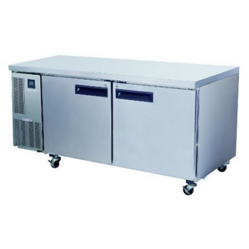 Skope PG500HF Pegasus Horizontal 2/1 Series Two Doors Bench Freezer - 1750mm