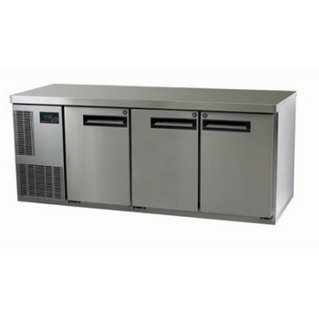 Skope PG400HC-2 Pegasus Horizontal 1/1 Series Three Doors Bench Fridge - 1799mm