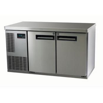 Skope PG250HF-2 Pegasus Horizontal 1/1 Series Two Door Bench Freezer - 1331mm