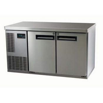 Skope PG250HC-2 Pegasus Horizontal 1/1 Series Two Door Bench Fridge - 1331mm