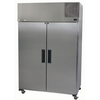 Skope PG1300VF Pegasus Vertical 2/1 Series Two Door Storage Freezer - 1298 Litre